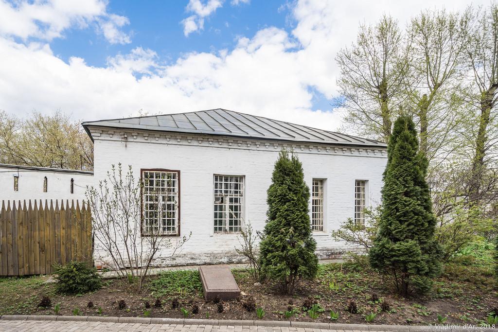 Спасо-Андроников монастырь. Монастырская постройка.
