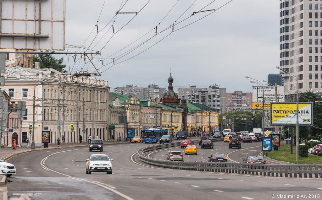 Часовня Проща. Улица Сергия Радонежского.