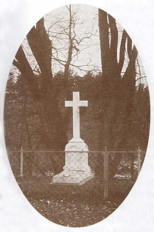 Могила Волконского перед мавзолеем