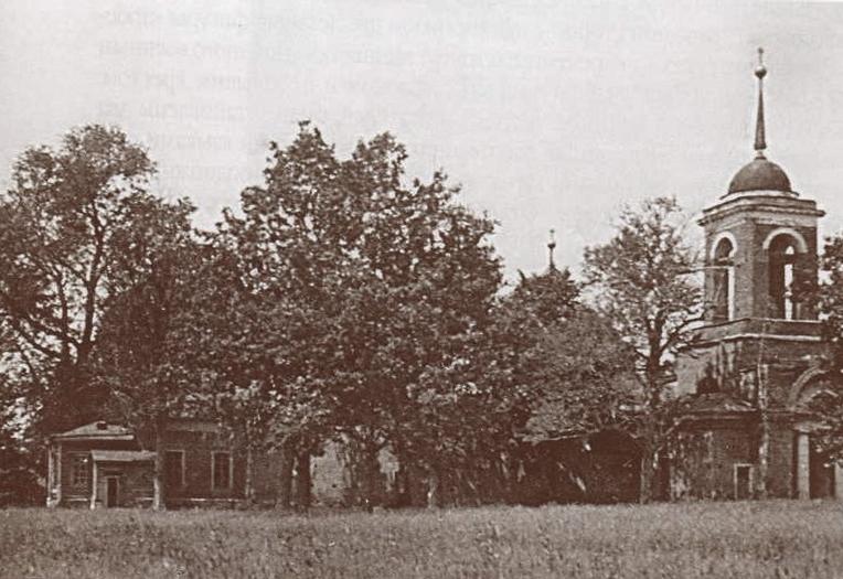 Храм Дмитрия Ростовского - вид со стороны Колокольни