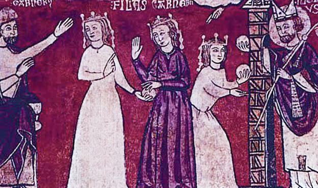 Святой Николай помогает отцу трех дочерей