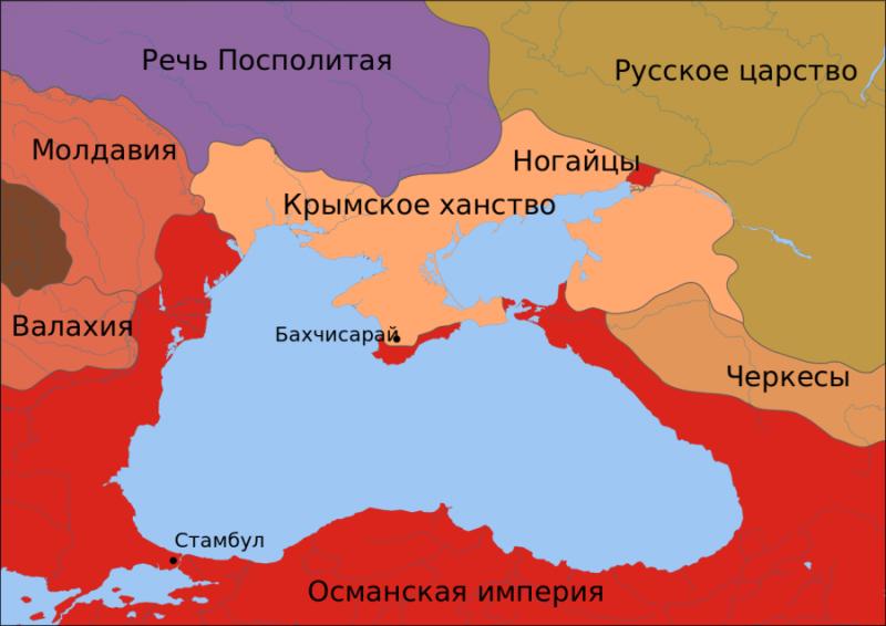Крымское ханство к моменту присоединения Крыма к России