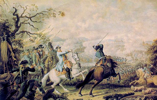 Сражение при Кагуле. Д. Ходовецкий.