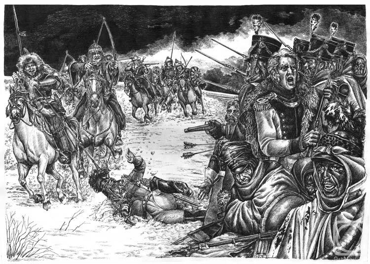 Сражение с ногайцами