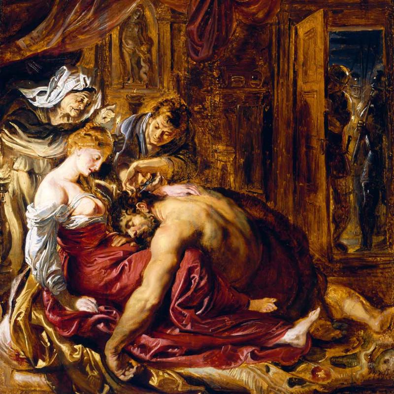 Далила показала сисьски и Самсон размяк. Понимаем.