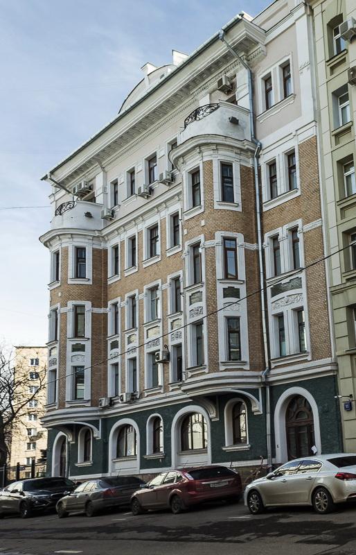 Доходный дом Желябужского (Кривоарбатский пер., 9)
