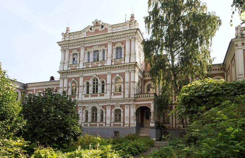 Дворец Елизаветы Петровны в Покровском-Рубцове