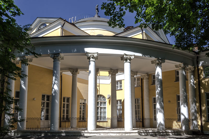Дворец Н.А. Дурасова в усадьбе Люблино