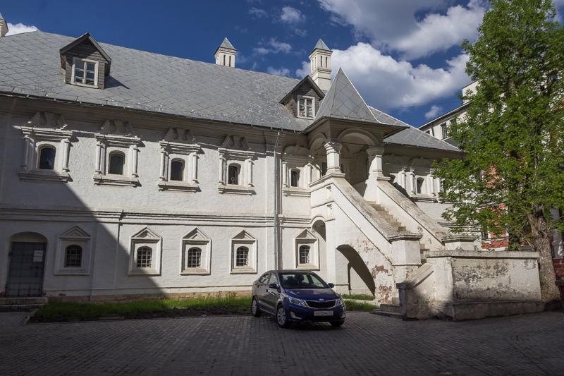 Тверское подворье на Кузнецком мосту. Палаты