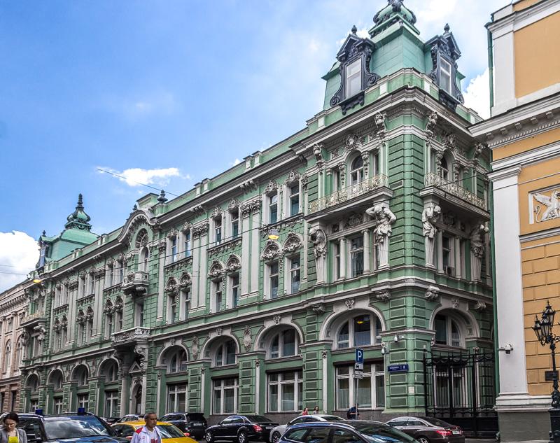 Посольское подворье на Ильинке, 8 – Волжско-Камский банк