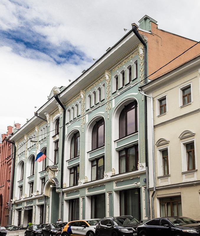 Доходный дом князей Голицыных в Б.Черкасском переулке