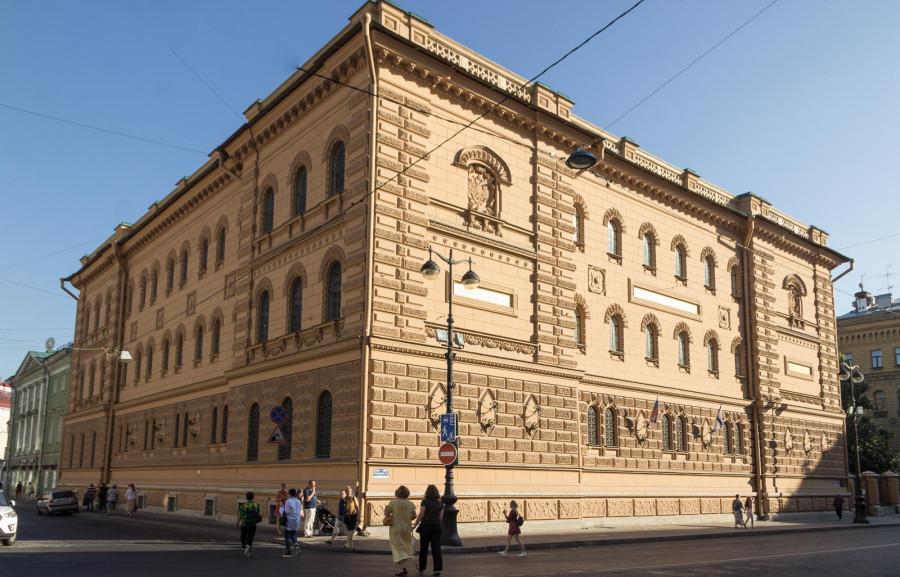 Здание архива Военно-Морского флота, ул. Миллионная, 36