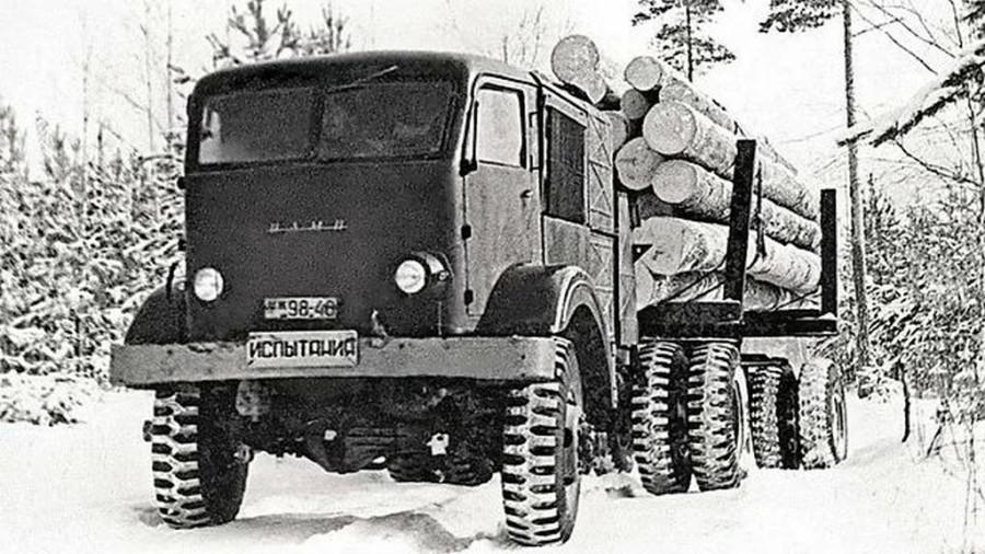 Дровомобиль. Советский грузовик для ядерной войны