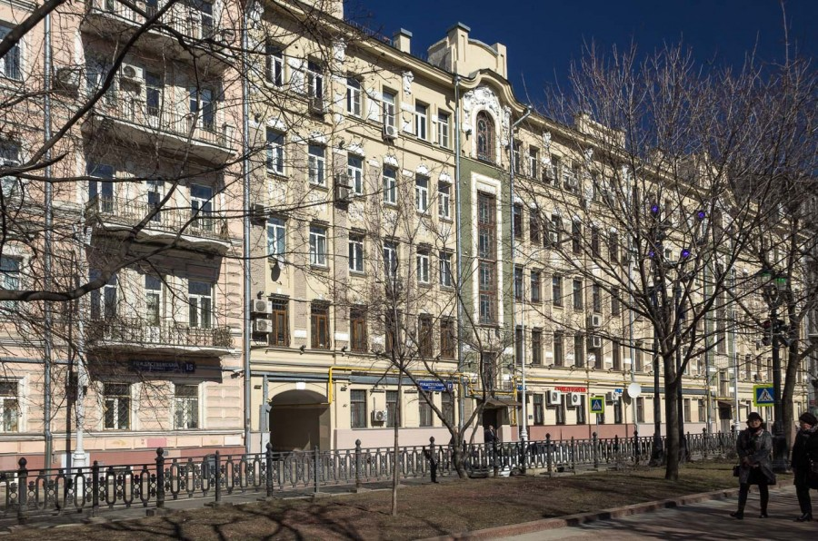 Доходный дом Н. И. Силуанова. Рождественский бульвар, 17