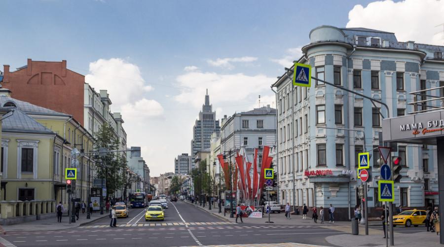 Архитектурные достопримечательности. Малая Дмитровка.