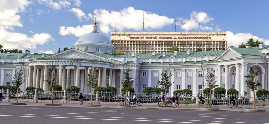 Странноприимный дом графа Шереметева. Памятник большой любви
