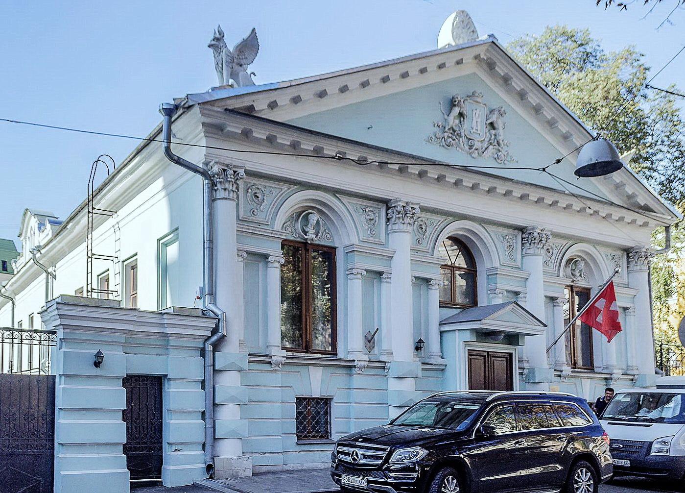 Городская усадьба В.В.Думнова - Н.Л.Маркова, Калашный пер., 6