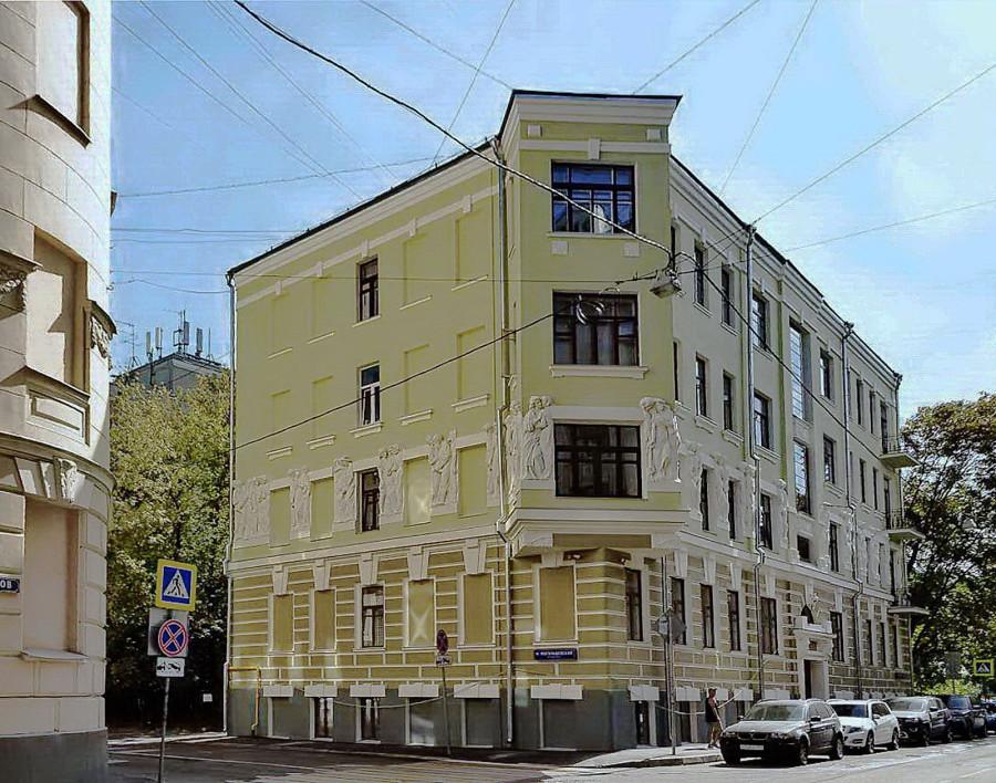 Доходный дом Г.Е.Бройдо, Плотников пер., 4