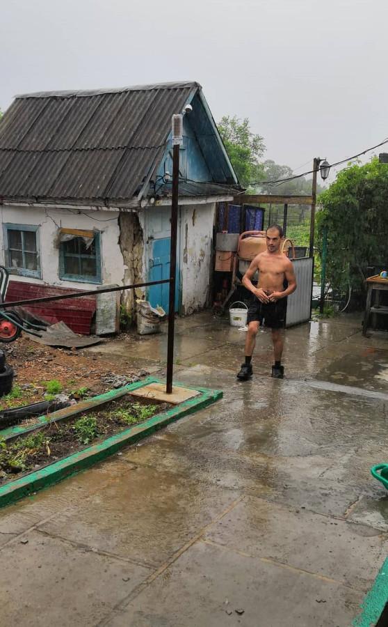 Один день инвалида в деревне