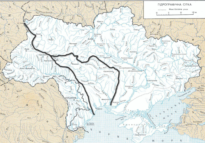 бассейны днепра и южного буга