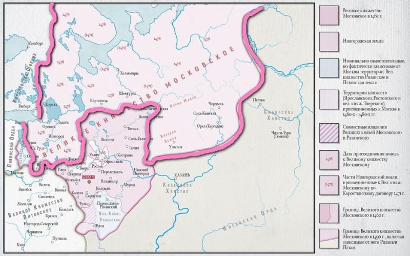 Новгородская республика  к 1470 г.