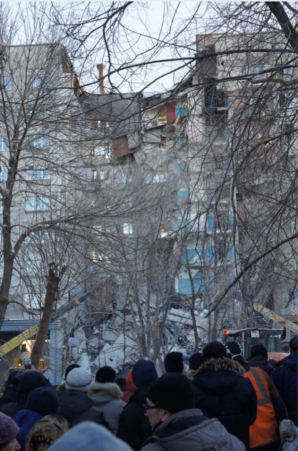 48 квартир обрушил взрыв газа в жилом доме в Магнитогорске: хроника событий, последние новости фото и видео с места события