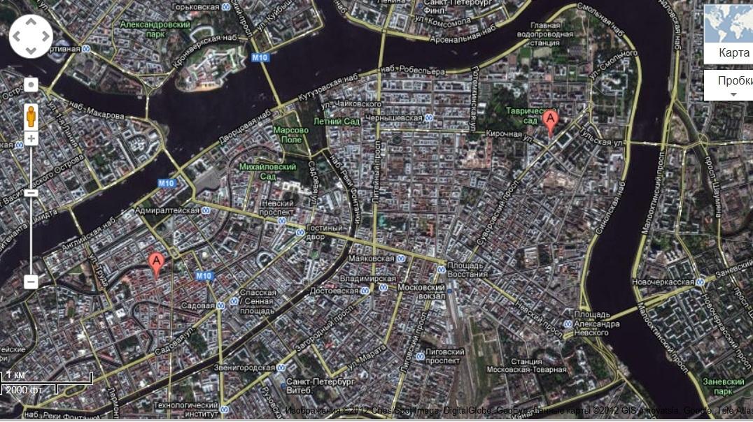 канал грибоедова-кавалергардская ул