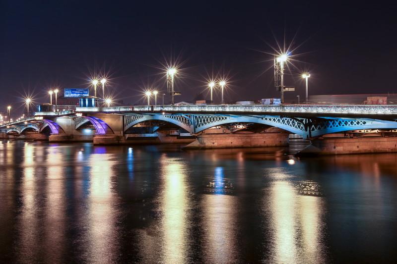 Благовещенский мост наши дни