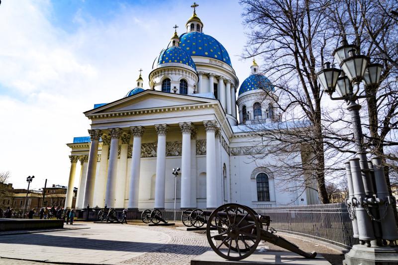 Храм Измайловского полка