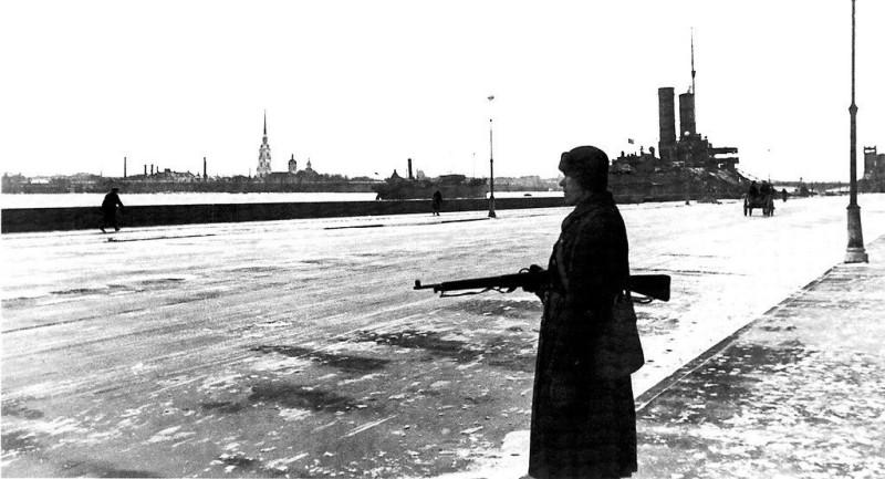 Зима в блокадном Ленинграде