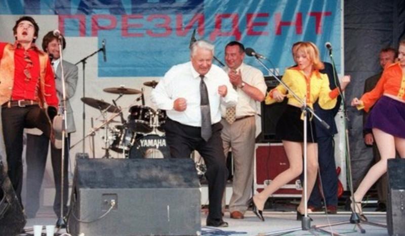 Б.Н. Ельцин в президентской гонке