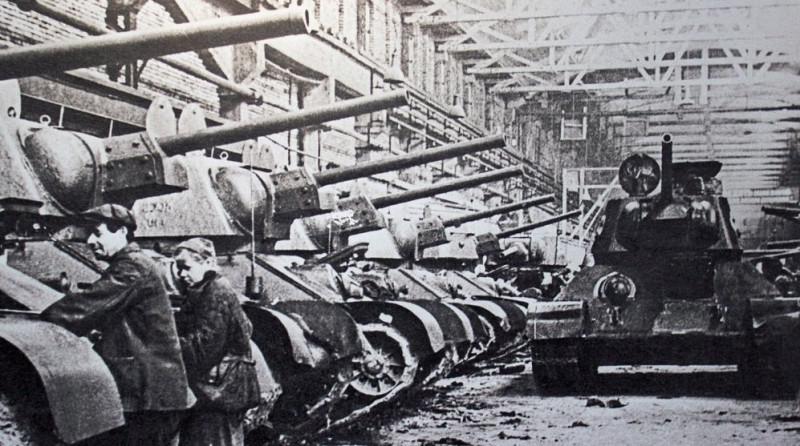 Челябинский тракторный завод освоил выпуск Т-34