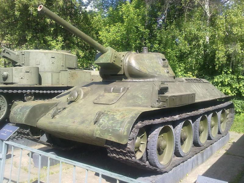 Т-34 выпуск 1941 года