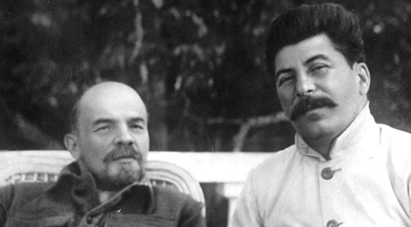 Ленина и знакомство сталина