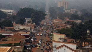 Bangui City, capital of CAR
