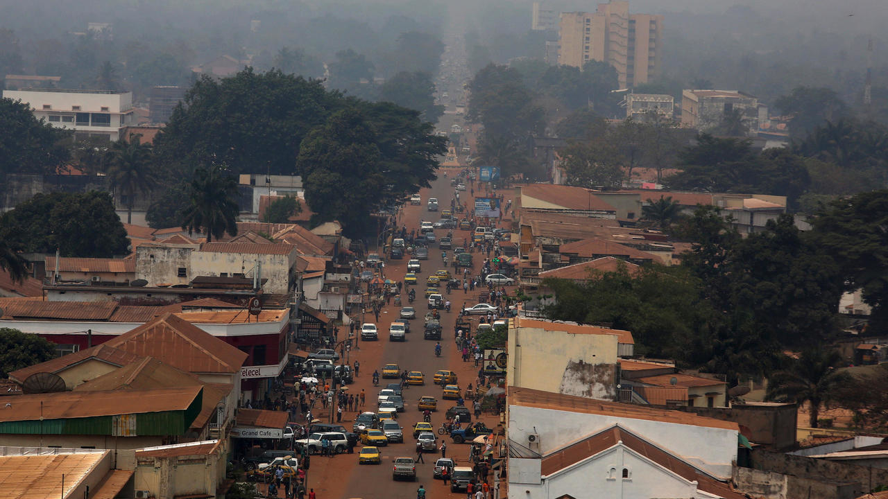 Bangui City, capital of CAR