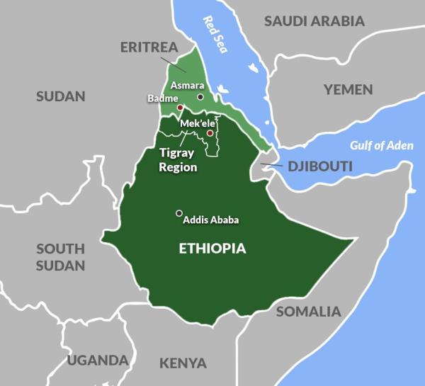 Вторая Гражданская война в Эфиопии все-таки началась