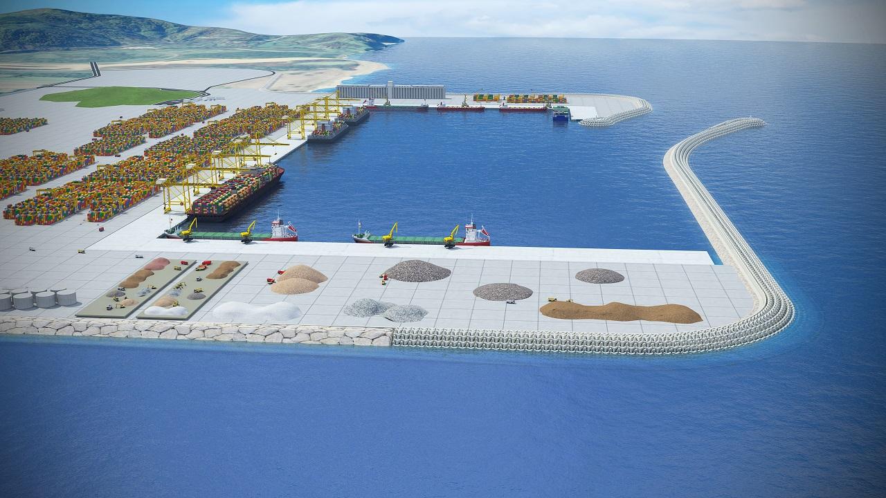 Порт Филос станет ключевым пунктом в международной торговле Турции