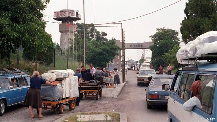 Болгарские турки покидают страну