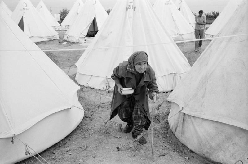Лагерь для болгарских турок, Эдирне, 30 июня 1989 г.