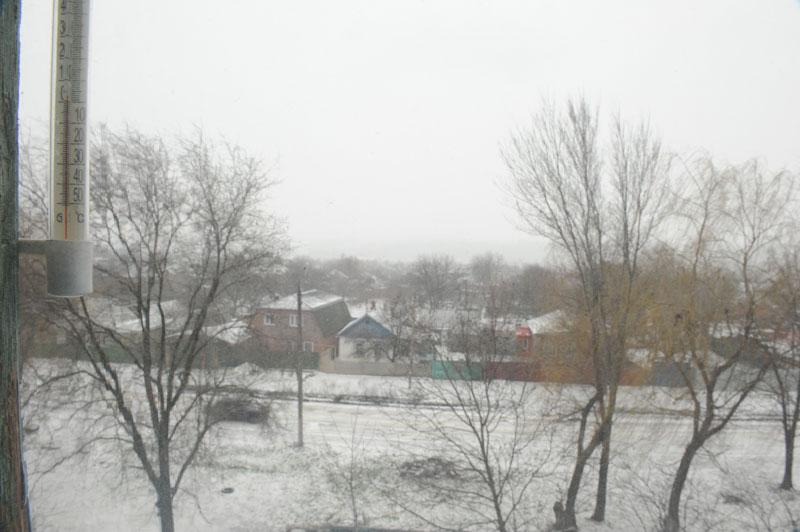 Зима весной в Новочеркасске 2013