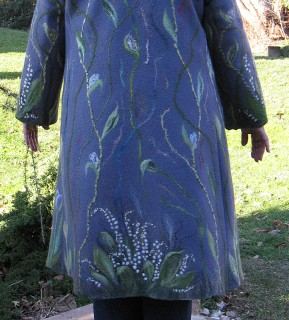 Я садовником родился!!\u0026quot; - пальто на полную фигуру