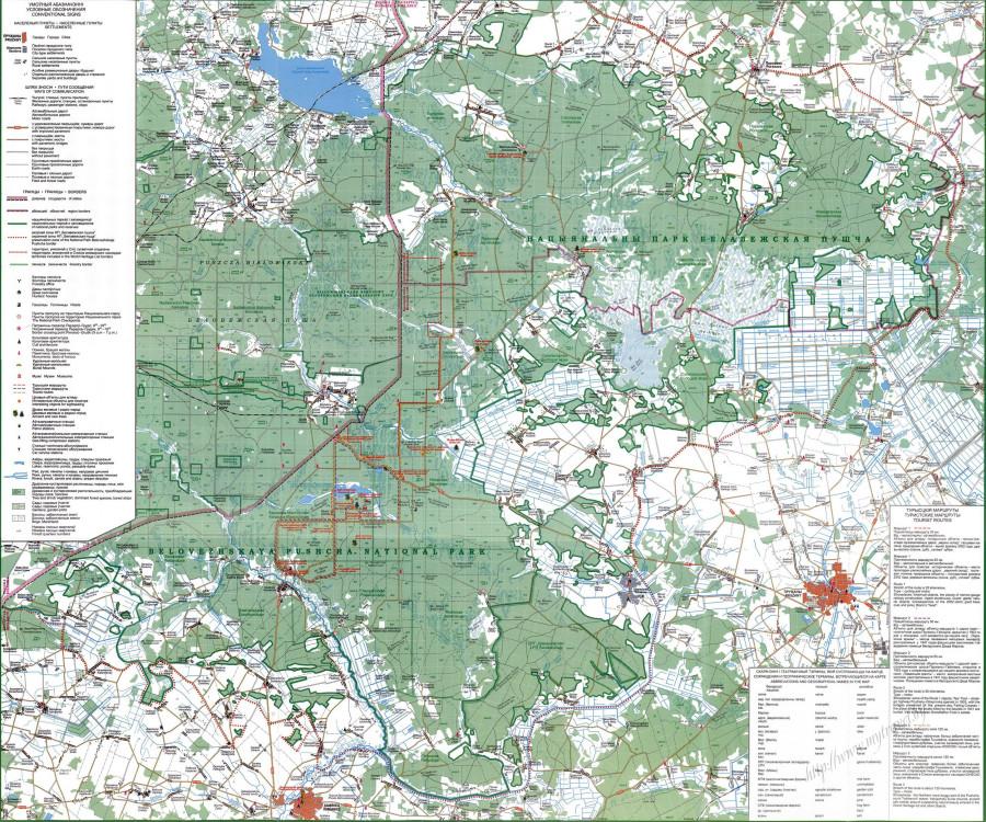 map-Belovezhskaya-Pushcha-National-Park