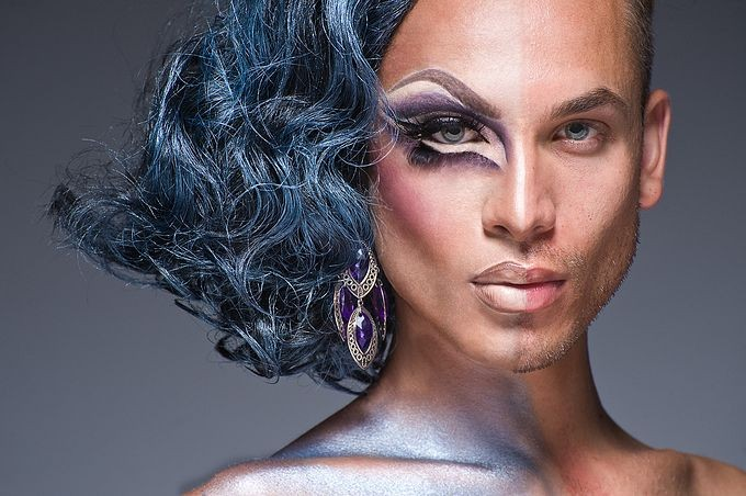 Транс с очень красивым лицом фото 235-29