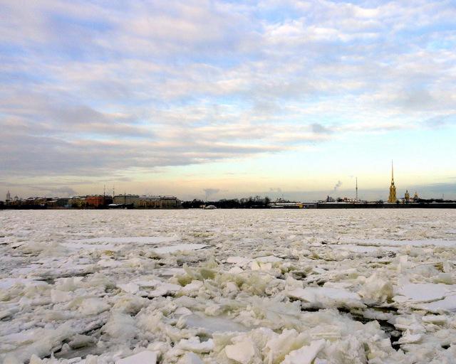 Вид на Петроградскую сторону