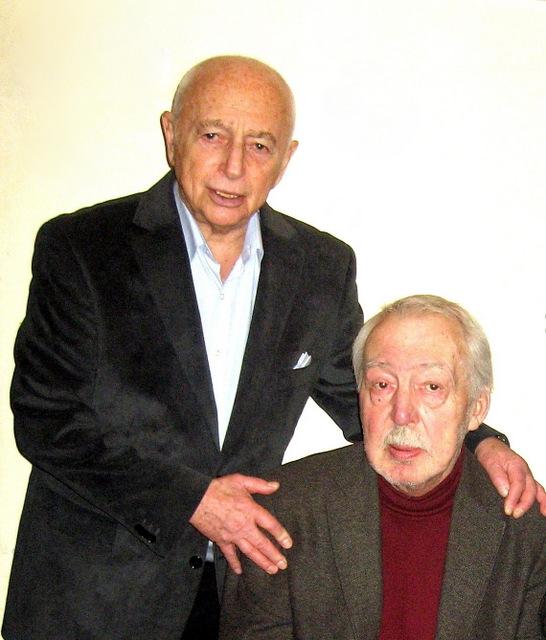 Александр Городницкий и Андрей Битов