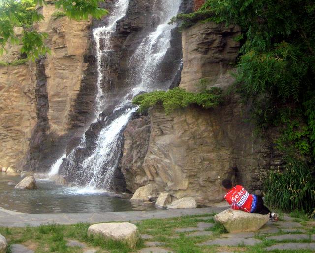 Водопад в Аянгё