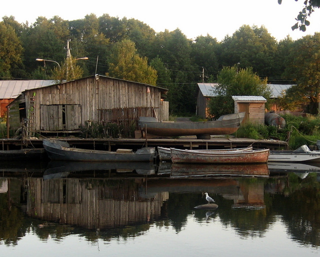 старые лодки