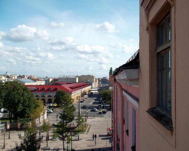 Вид на Андреевский рынок