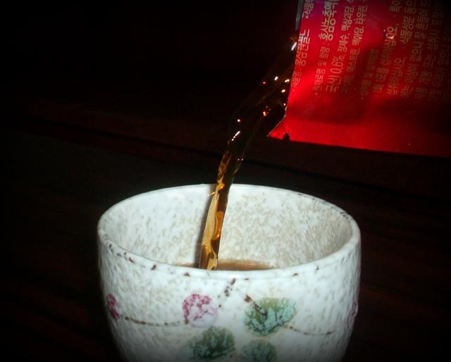 женьшеневый напиток